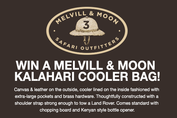 Melvill and |Moon cooler competition WIN